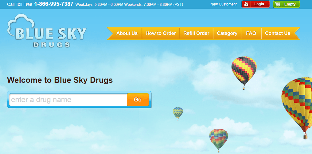 Blue Sky Drugs – Helping Customers with the Rising Medicine Costs
