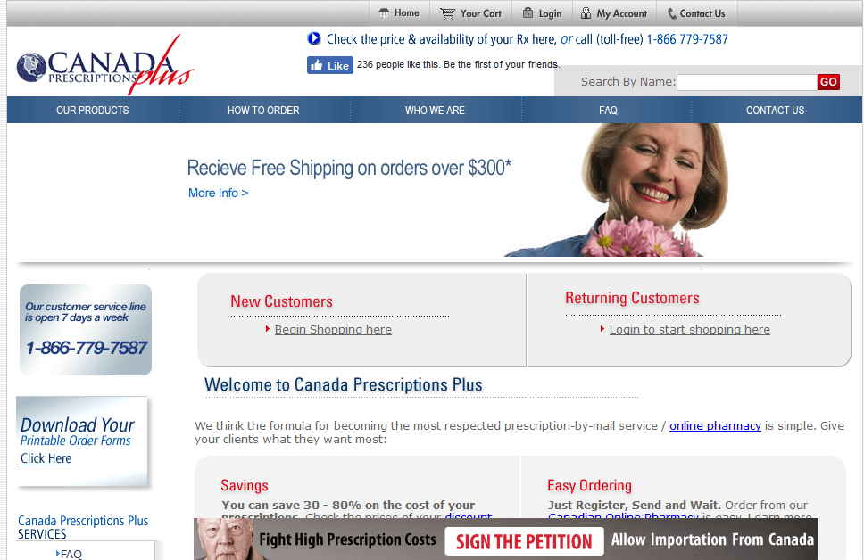 Canadaprescriptionsplus – Almost Impressive but with Mixed Buyer Reviews